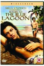 Watch Return to the Blue Lagoon Online M4ufree